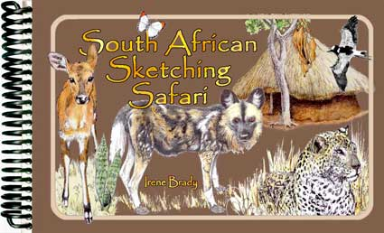 South Africa Sketching Safari Cover